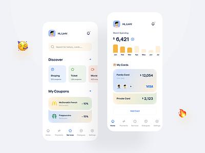 Finance App Design in CaAll finance app finance mobile app mobile cadesign ios ui kit ui8 ui kit design app