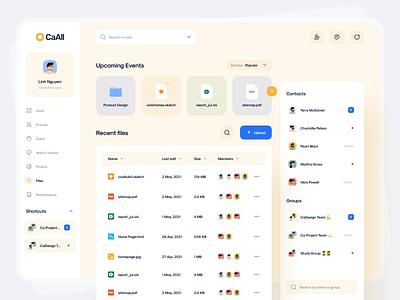 Files Management Dashboard minimal clean file manager dashboard ui dashboard app dashboad cadesign app ui8 ui kit kit design ui