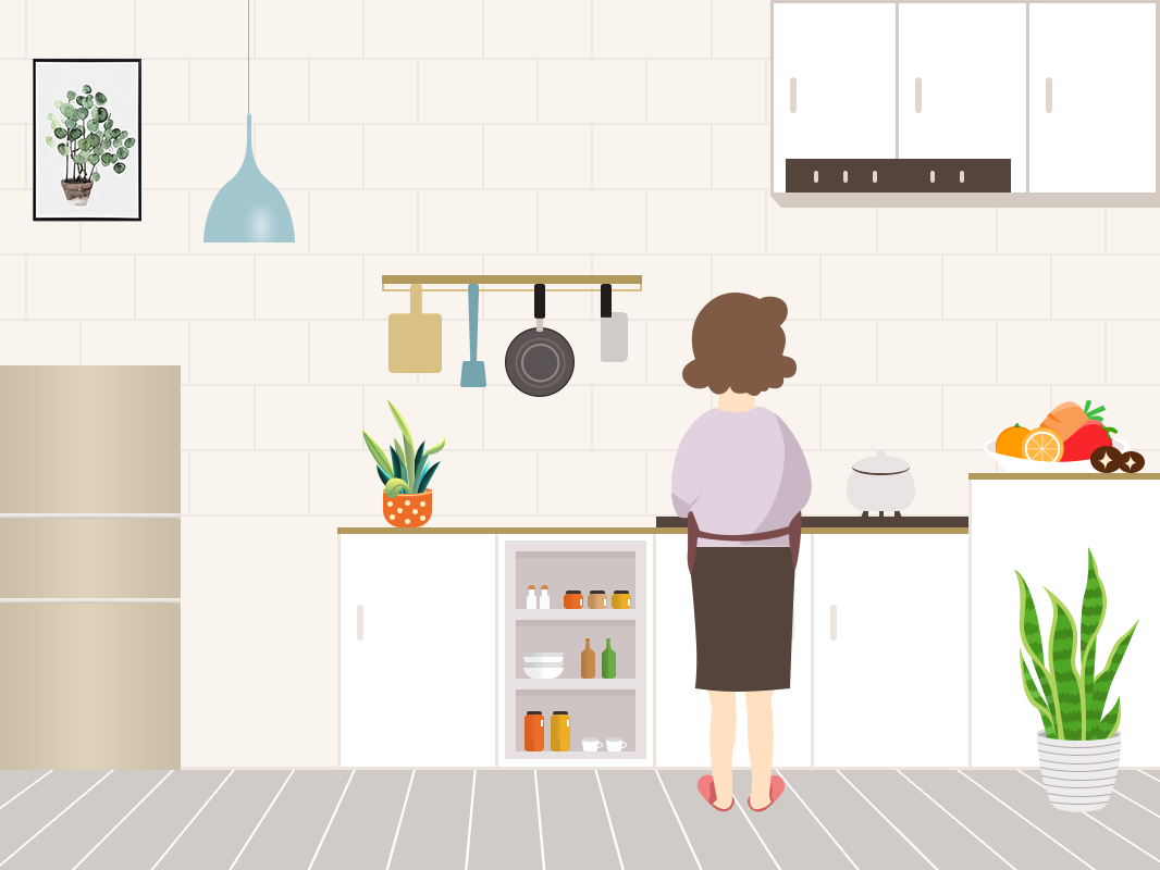 Mom is woking animation 设计 web icon design ui 图标 插图