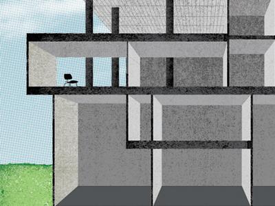 Architecture Illo illustration editorial architecture design bureau
