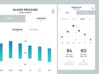 Medical app UI