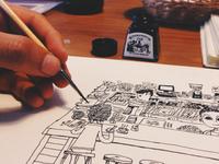 dibujos a pedido