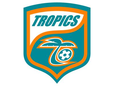 florida tropics by dylan alexander dribbble rh dribbble com  flint tropics logo vector