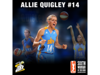 Allie Quigley Sixth Woman of the Year