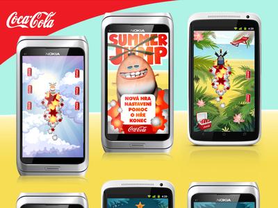 Coca-Cola Summer Jump Game
