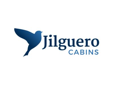 Jilguero Cabins type logo jilguero