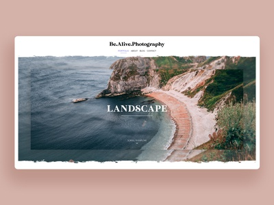 Photography Portfolio Website