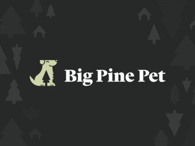 Big Pine Pet Branding