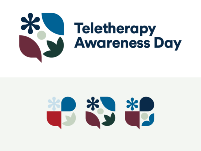 Teletherapy Awareness Day Branding