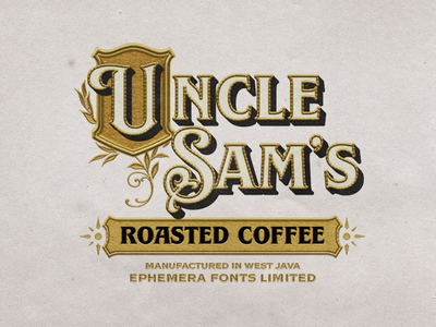 Uncle Sams victorian label packaging labels label design labeldesign typogaphy typography art typographic typo logo label typography texture typeface font lettering vintage