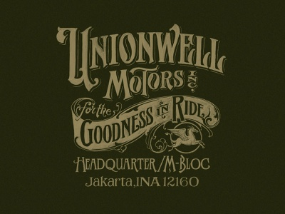 Unionwell Lettering logotype logo design handlettering typography typeface texture lettering font vintage