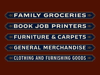 Panel Design panel signage logo variablefonts design typography typeface font lettering vintage