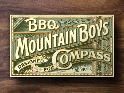 Shoe Packaging victorian ornament typeface design handlettering typography packaging lettering vintage