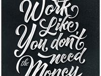 Motivation quote poster