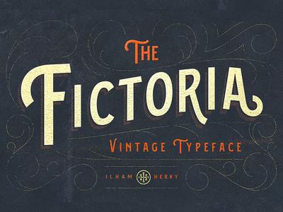 Fictoria Typeface
