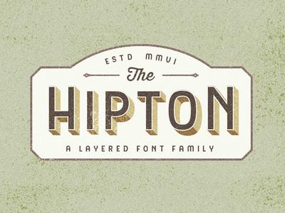 Hipton Typeface