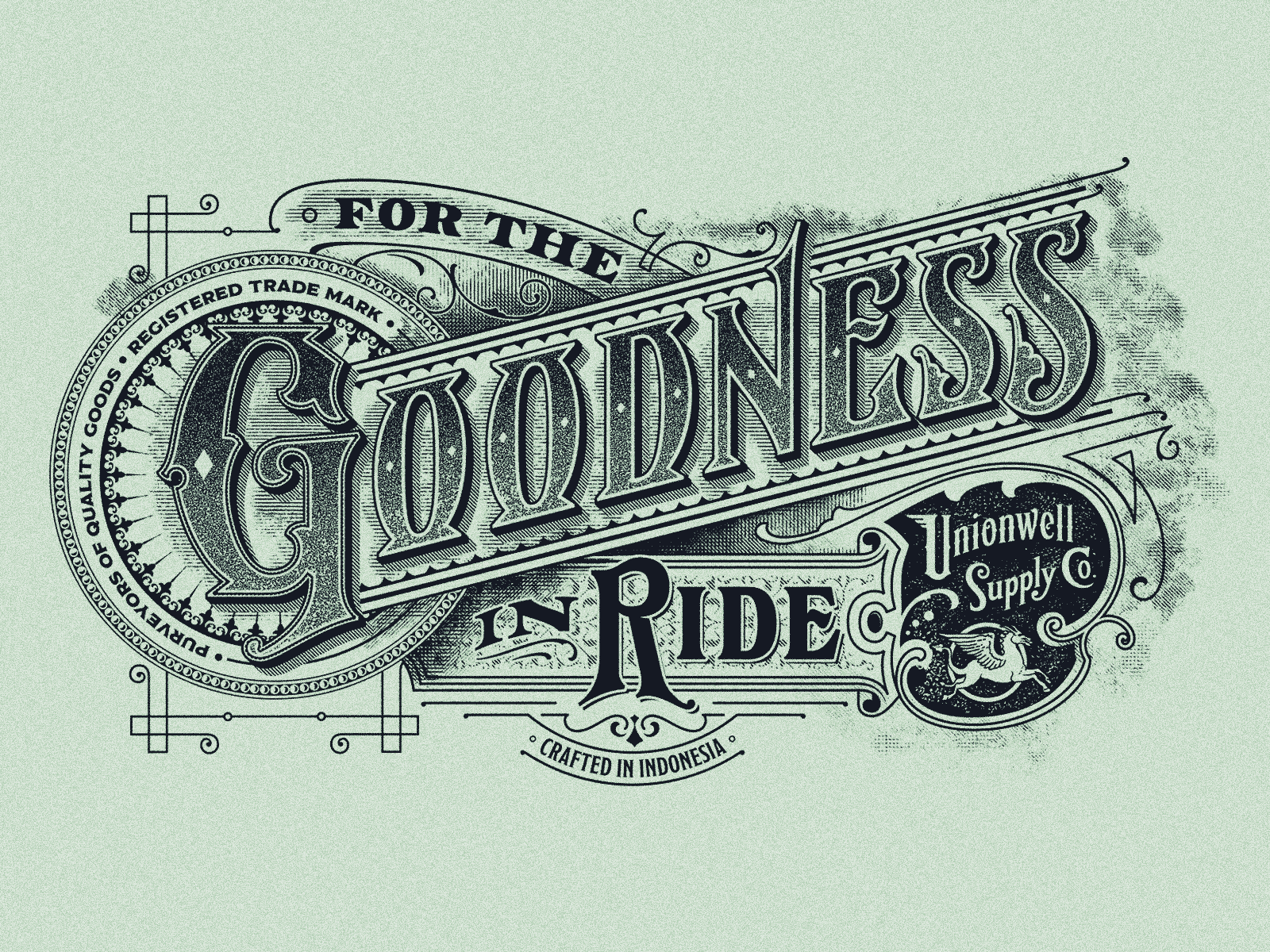 For the goodness in ride  big