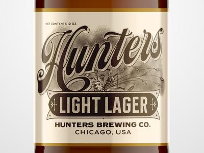 Hunters Light Lager