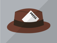 Press hat icon