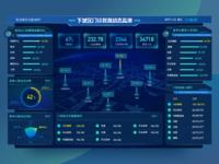 Sci-tech Sense Monitoring Background