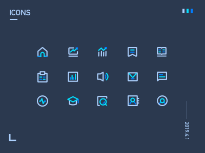 ICONS for my new project