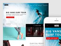 Redesign Concept - Vans