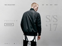 Hero Banner Concepts / Fashion