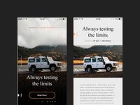Adventure Stories (iOS Concept)