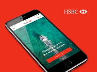 Redesign of HSBC (Mobile)