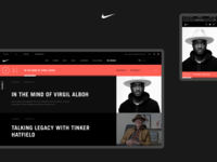 Podcast Player - 'The Swoosh' Nike (Concept)