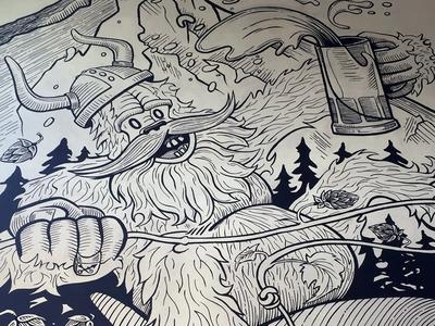 Ballard Beer Co. Mural