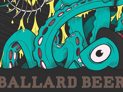 Ballard Beer Co. 4x4 Poster
