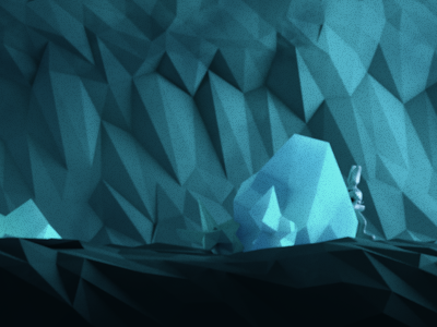 09/26/12 Daily 07 [Ice cave expedition] c4d daily render cinema 4d lowpoly photoshop ice caves character rig