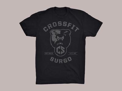 CrossFit Surgo Throwback shirt