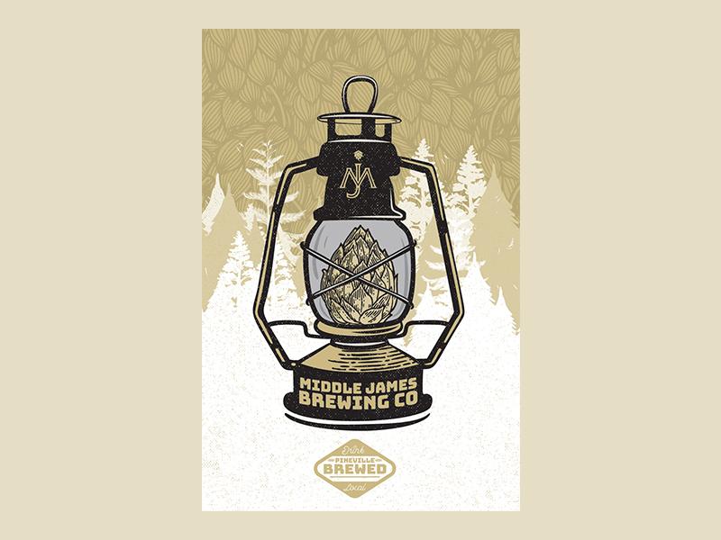 Hop Lantern beer beer branding branding