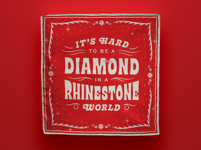 Dolly Parton Bandana ✨ rhinestone diamond bandana dolly parton