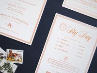 Key Wedding Invitations