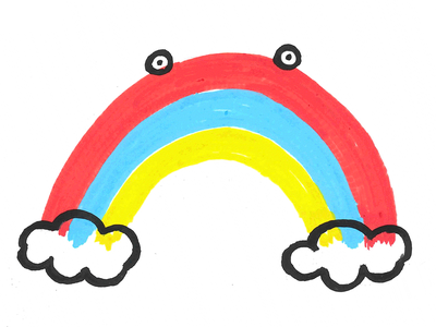 100 days draw rainbow 100days 100dayproject illustration
