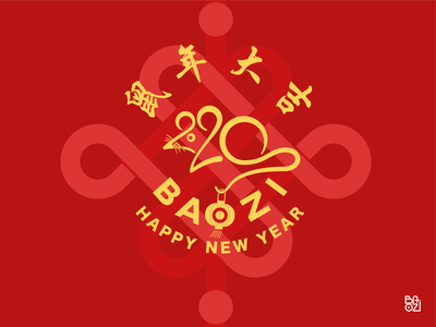 BAOZI - YEAR . OF THE RAT - CHINESE NEW YEAR 2019/2020