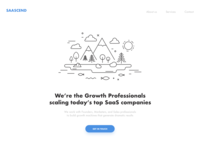 Landing Page for SaaS Development Company