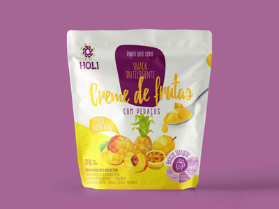 Packing Design • Holi Foods branding snack fruits food illustration graphicdesign packing