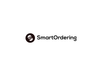Smart Ordering mobile young minimalist color design logo simple clean new modern