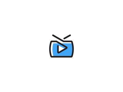 ETV mobile young minimalist color design logo simple clean new modern
