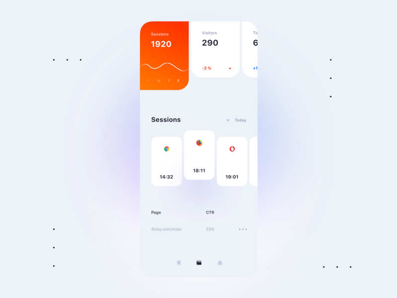 Analytics mobile dashboard xd figma sketch type icon luxury flat vector minimal design application android web experience mobile ios interface app ux ui