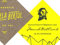Manuela Bertol Business Card Mockup