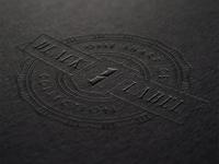One Sharp Joe • Black Label Badge