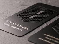 One Sharp, Metal Business Card