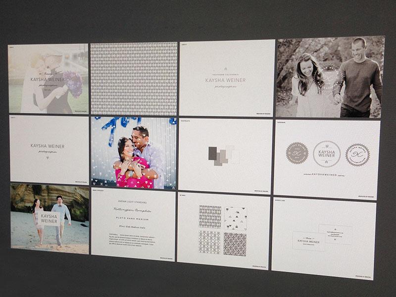 Kaysha Brand Boards warm gray braizen photographer geometric script san serif modern branding
