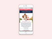 Tami & Ryan Responsive Wordpress Site