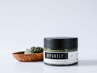 Purely Beauty package design braizen beauty products mask pure essential oils packaging